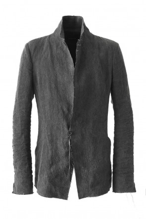 Sumi Dyed Linen Tailored Jacket