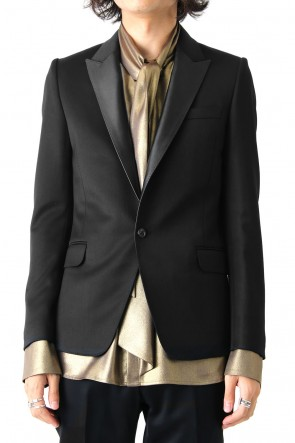 GalaabenD 17-18AW TUXEDO CLOTH STRETCH JACKET