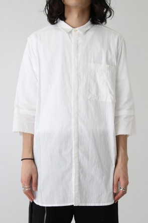 The Viridi-anne 18SS Product Dyed Short Sleeve Shirt