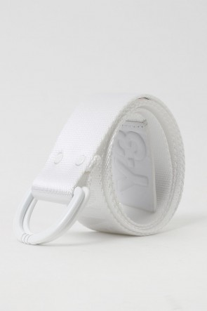 Y-3 17-18AW Yohji White Belt