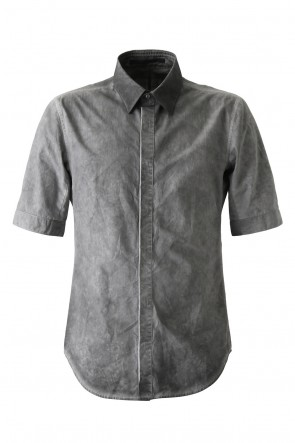 Cold Dye Cotton Broad Half Sleeve Shirt