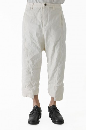 individual sentiments 18SS Pants PA68L Washi Cotton Hard Twill