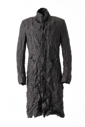 Silk / Cashmere Milled Finished Coat CO27H