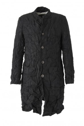 Silk / Cashmere Milled Finished Coat CO31-LCW5