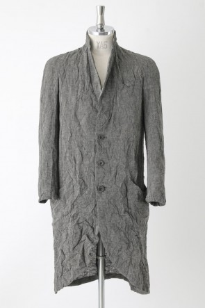 Washed Linen Canvas Coat – CO30H-LC19