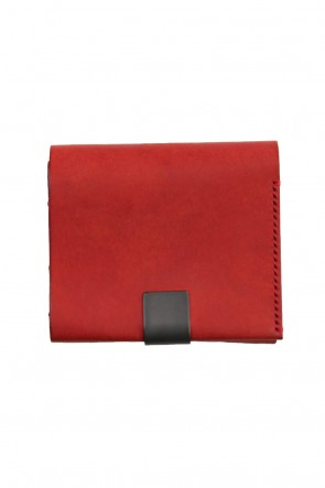 iolom Classic Minimal Trifold Wallet B - Red