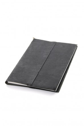 iolom Classic Crane Book cover with note B5 size - io-09-028 Black