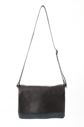 iolom Classic Japanese Horse Leather Shoulder Bag