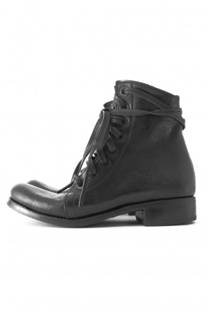 James Kearns 18SS 8Holes Work Boot (Horse leather Culatta Black sole Rusted Eyelets)