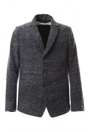 individual sentiments 19-20AW Mix Color Wool Tweed - JK59-MW12
