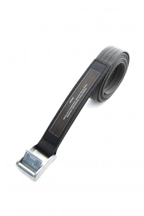 JULIUS 19PS TAPE BELT Dark Gray