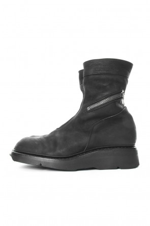 JULIUS 18PF Riders Boots (COW NUBUCK)