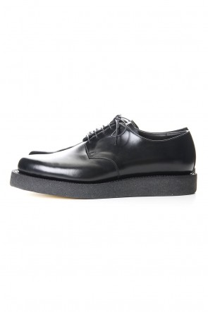 KAZUYUKI KUMAGAI 19-20AW Glass leather derby rubber sole shoes