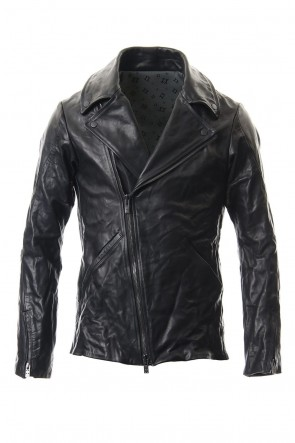 DEVOA 19-20AW Guidi Horse Leather Double Riders Jacket
