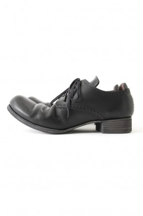 DEVOA 17SS Guidi Leather shoes Black