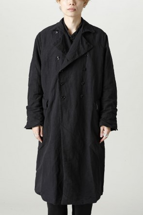GARMENT REPRODUCTION OF WORKERS21-22AWニュー ダブルコート  ブラック
