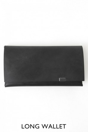 No,No,Yes! BASIC No,No,Yes!  - shosa - Long Wallet Oil Nubuck Black