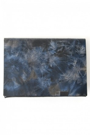 No,No,Yes!  -shosa- LIMITED Short Wallet 1.0 (BLUE TIE DYE)