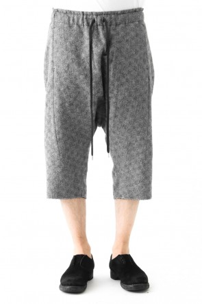 individual sentiments 17-18AW Shorts Pants PA44 Antique Check Compression Washer - individual sentiments