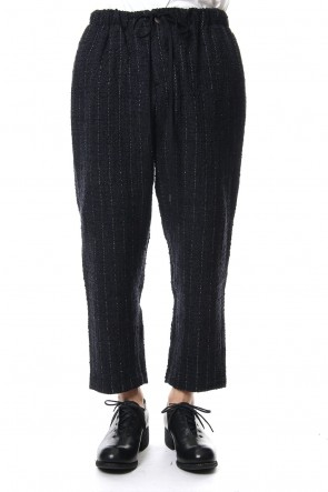 individual sentiments 18-19AW Pants PA89 Wool / Cotton Slab Yarn Tweed