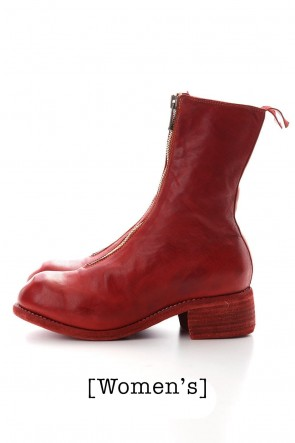 Guidi  Women's Long Front Zip Boots - Horse Full Grain Leather