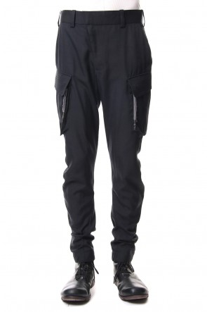 DEVOA 19SS Cargo Pants High Density Silk