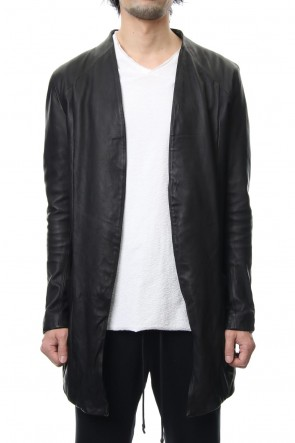 RIPVANWINKLE 19SS LEATHER JACKET CARDIGAN