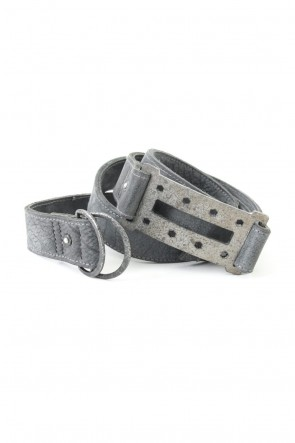 Saddam Teissy - Buffalo Calf Leather Iron Belt