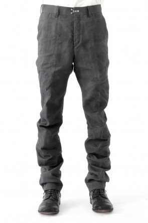 Product dyed Hemp x Washi Curved Trousers