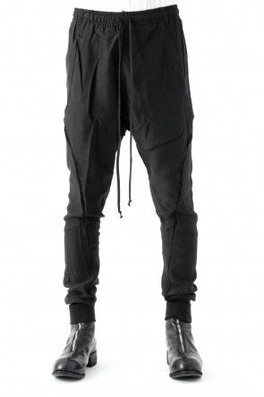 Song for the Mute 17SS LIGHT RAYON - DULL SLIM TRACK PANT