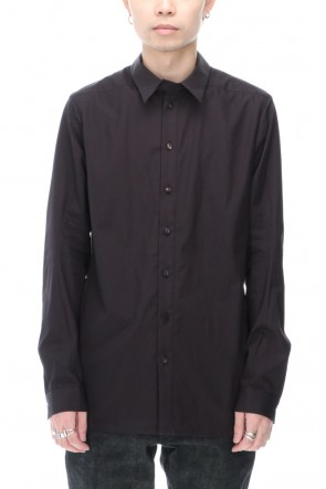 DEVOA 20-21AW Shirt 120/2 egyptian cotton ( FINX ) Charcoal