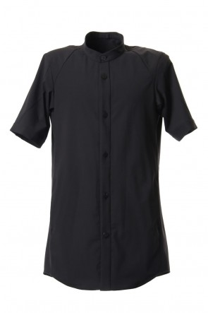 DEVOA 19SS Short sleeve shirt 4way Stretch Virgin Wool