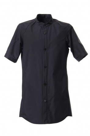 DEVOA 19SS Short sleeve shirt Virgin wool silk - Blue