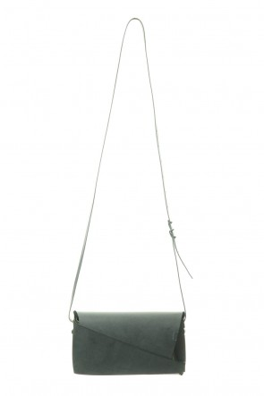 No,No,Yes! 19-20AW 所作 Shosa - No,No,Yes! Shoulder pouch (GREEN)