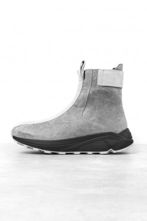 Song for the Mute x KKTP Leather Sneaker Boots
