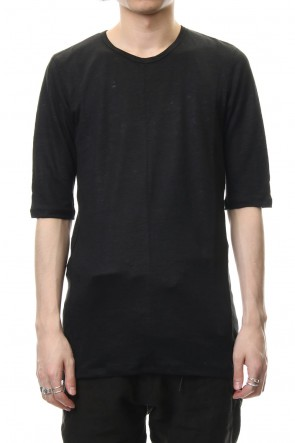 SADDAM TEISSY 19SS Linen India 1/2 Sleeve T-shirt - ST101-0109S