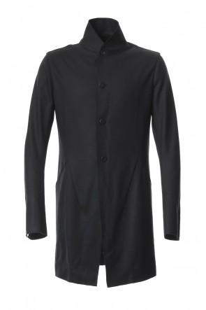 SADDAM TEISSY 18-19AW Super 100's wool smooth tailor long Cardigan