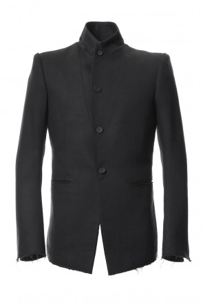 SADDAM TEISSY 18-19AW Silk Twill Tailored Jacket