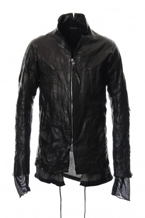 SADDAM TEISSY 19SS Horse leather zip up cardigan - ST105-0029S