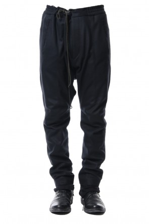 SADDAM TEISSY 18-19AW Super100S Wool smooth Drop Crotch Layered Pants