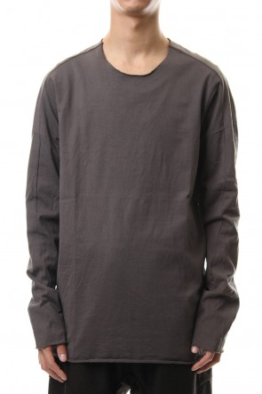 WARE 19-20AW L/S T-Shirts D Gray