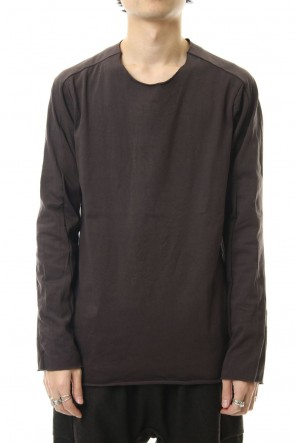 WARE19-20AWExtra Long Staple Cotton L/S T-shirts D.Grey