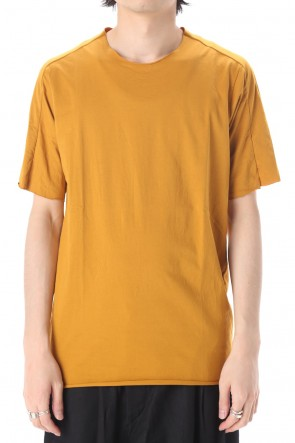 WARE  Light Cotton Jersey T-Shirts Mustard