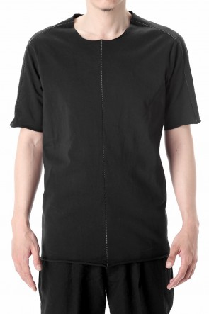 WARE  Medium Jersey Over Lock Stitch T-Shirts Black