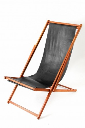 T.A.S BASIC RECLINING CHAIR BLACK×BROWN