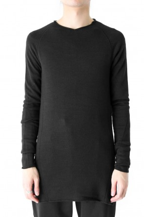 DEVOA 18SS Knit Long Sleeve Silk Wool