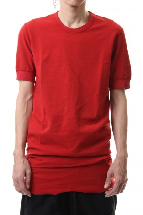 BORIS BIDJAN SABERI 20SS TS1 Regular Fit - FTN0001 - Blood Red