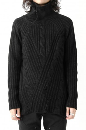 Wool Cotton Cashmere Sweater