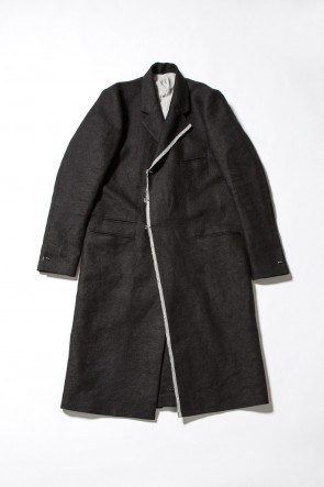 Japanese Paper Linen Chester Coat