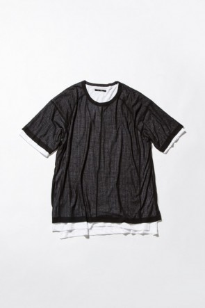 Tereko Short Sleeve Layered Tee